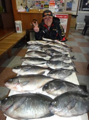 丸銀釣りセンターの2019年1月24日(木)4枚目の写真