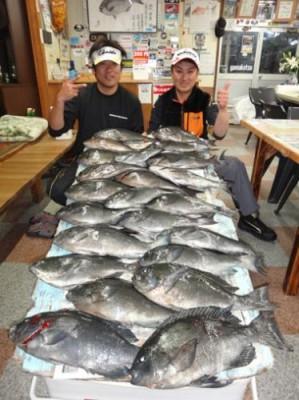 丸銀釣りセンターの2019年1月30日(水)5枚目の写真