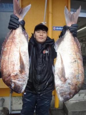 丸銀釣りセンターの2019年1月31日(木)1枚目の写真