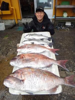 丸銀釣りセンターの2019年1月31日(木)2枚目の写真
