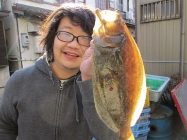 奥村釣船の2019年1月26日(土)1枚目の写真