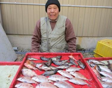 奥村釣船の2019年1月26日(土)3枚目の写真