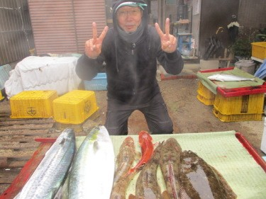 奥村釣船の2019年1月31日(木)4枚目の写真