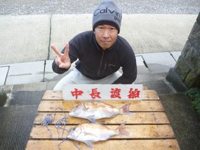 中長渡船の2019年2月6日(水)1枚目の写真