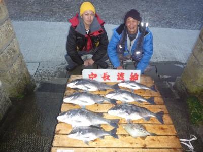 中長渡船の2019年2月7日(木)1枚目の写真