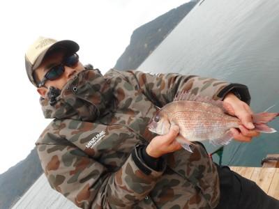 由良海つり公園&釣堀ランドの2019年2月11日(月)1枚目の写真