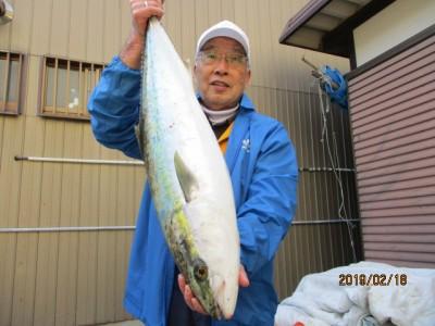 奥村釣船の2019年2月18日(月)1枚目の写真