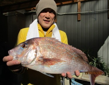 奥村釣船の2019年2月18日(月)2枚目の写真