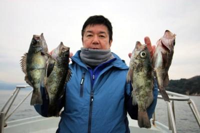 西岡遊漁の2019年2月15日(金)1枚目の写真