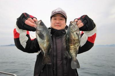 西岡遊漁の2019年2月15日(金)3枚目の写真