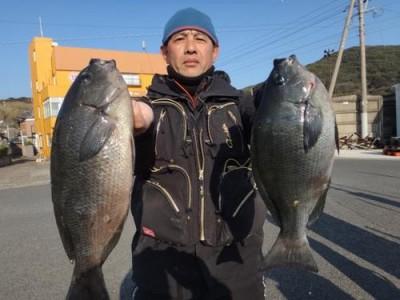 丸銀釣りセンターの2019年2月17日(日)3枚目の写真