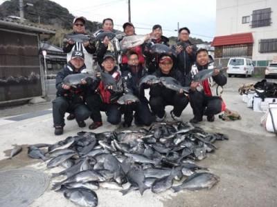 丸銀釣りセンターの2019年2月18日(月)1枚目の写真