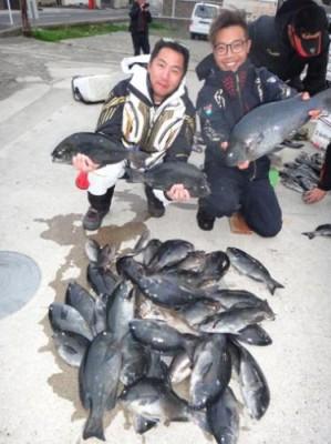 丸銀釣りセンターの2019年2月18日(月)2枚目の写真