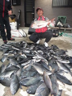 丸銀釣りセンターの2019年2月18日(月)3枚目の写真