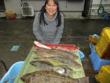 奥村釣船の2019年2月19日(火)1枚目の写真