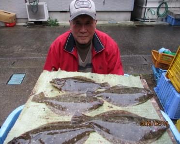 奥村釣船の2019年2月19日(火)4枚目の写真
