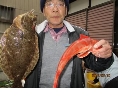 奥村釣船の2019年2月20日(水)2枚目の写真