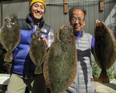 奥村釣船の2019年2月21日(木)1枚目の写真