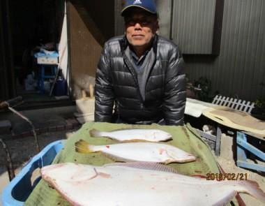 奥村釣船の2019年2月21日(木)2枚目の写真