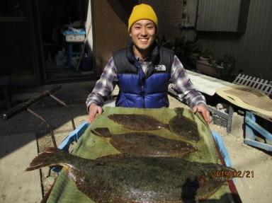 奥村釣船の2019年2月21日(木)3枚目の写真