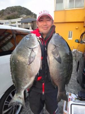 丸銀釣りセンターの2019年2月20日(水)3枚目の写真