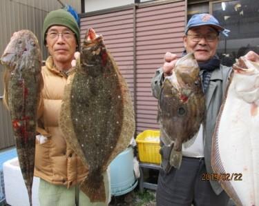 奥村釣船の2019年2月22日(金)1枚目の写真