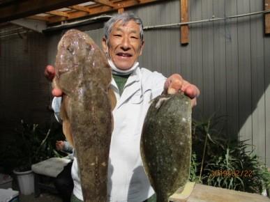 奥村釣船の2019年2月22日(金)2枚目の写真