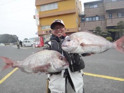 丸銀釣りセンターの2019年2月22日(金)3枚目の写真