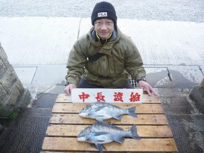 中長渡船の2019年2月23日(土)1枚目の写真
