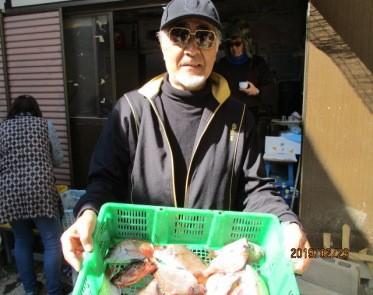 奥村釣船の2019年2月23日(土)2枚目の写真