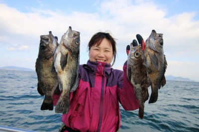 西岡遊漁の2019年2月20日(水)1枚目の写真