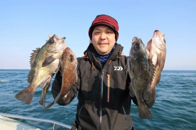 西岡遊漁の2019年2月21日(木)2枚目の写真