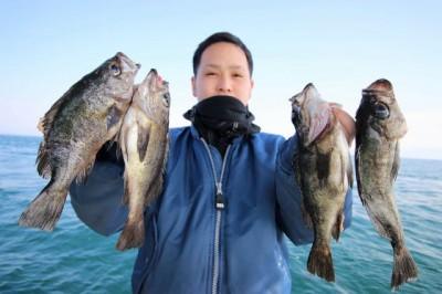 西岡遊漁の2019年2月21日(木)3枚目の写真