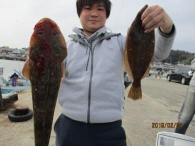 奥村釣船の2019年2月24日(日)1枚目の写真