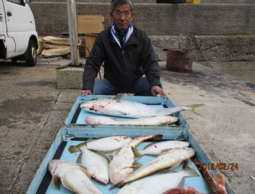 奥村釣船の2019年2月24日(日)2枚目の写真