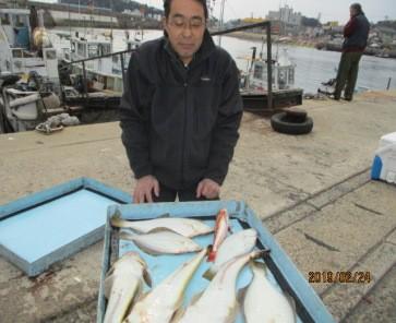 奥村釣船の2019年2月24日(日)3枚目の写真
