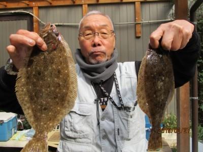 奥村釣船の2019年2月27日(水)2枚目の写真