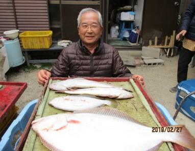 奥村釣船の2019年2月27日(水)3枚目の写真