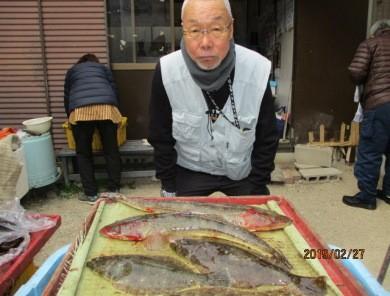 奥村釣船の2019年2月27日(水)4枚目の写真