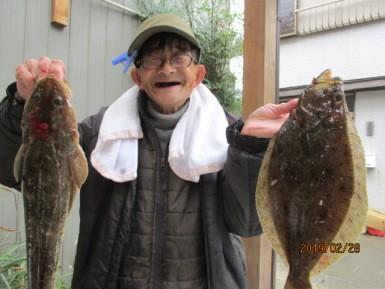 奥村釣船の2019年2月28日(木)1枚目の写真