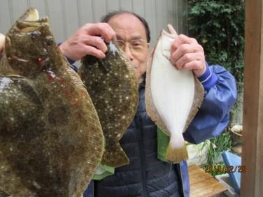 奥村釣船の2019年2月28日(木)2枚目の写真