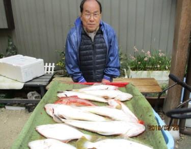 奥村釣船の2019年2月28日(木)4枚目の写真