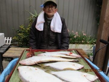 奥村釣船の2019年2月28日(木)5枚目の写真