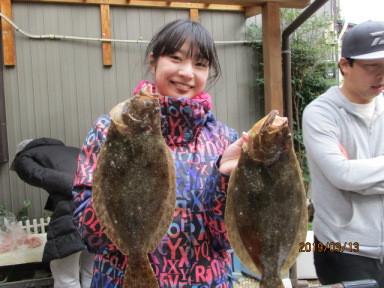 奥村釣船の2019年3月13日(水)1枚目の写真