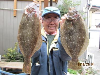 奥村釣船の2019年3月14日(木)2枚目の写真