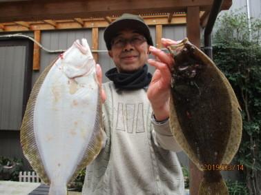 奥村釣船の2019年3月14日(木)3枚目の写真