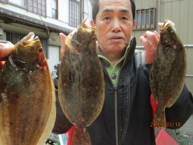 奥村釣船の2019年3月14日(木)4枚目の写真