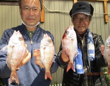 奥村釣船の2019年3月15日(金)1枚目の写真