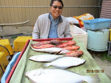 奥村釣船の2019年3月15日(金)3枚目の写真