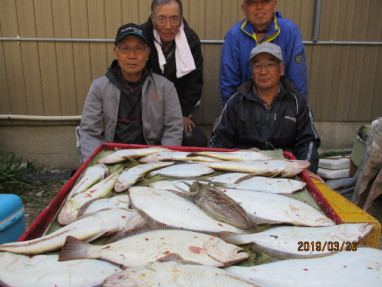 奥村釣船の2019年3月26日(火)4枚目の写真